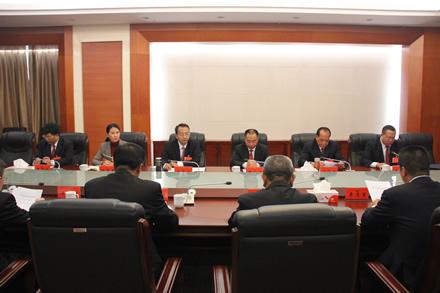 市三届人大四次会议主席团常务主席举行第一次会议