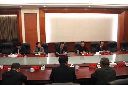 市三届人大四次会议主席团常务主席举行第二次会议