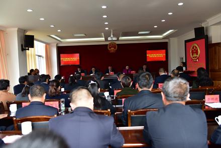 区四届人大常委会召开第七次会议