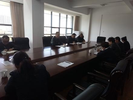 李志勇与联系工委干部进行廉政谈话
