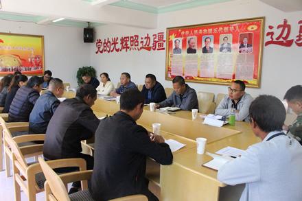 忙丙乡人大组织代表评议交通运输局工作