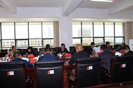 市人大常委会内务司法工委召开对口联系单位座谈会