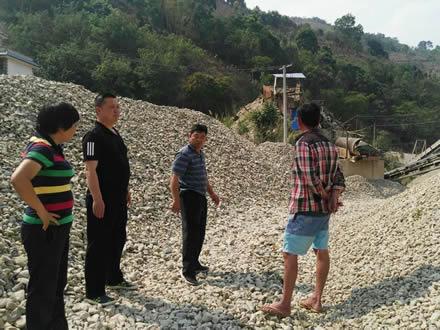 李红武率队调研南汀河流域河道采砂和河道生态流量管理工作情况