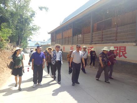 市人大常委会机关第四支部组织党员到耿马双江参观考察