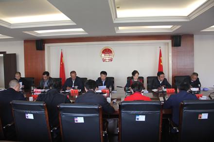 市人大常委会党组中心组召开第八次集中学习会议