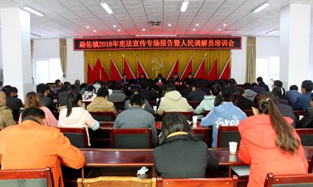 勐佑镇开展宪法宣讲活动