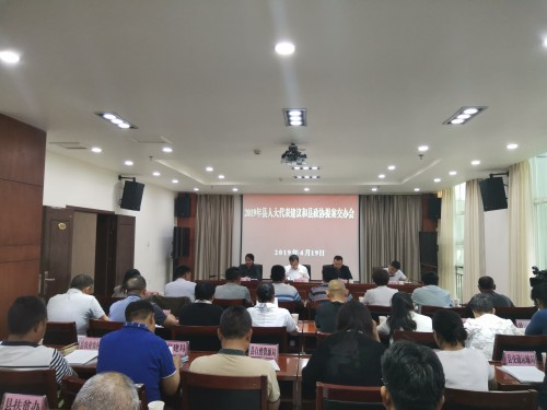 王红专对代表建议办理工作提出要求