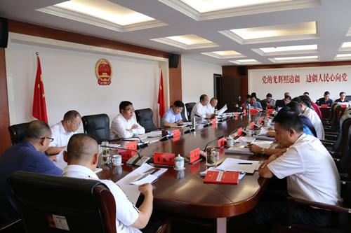 市人大常委会党组理论学习中心组举行第五次集中学习